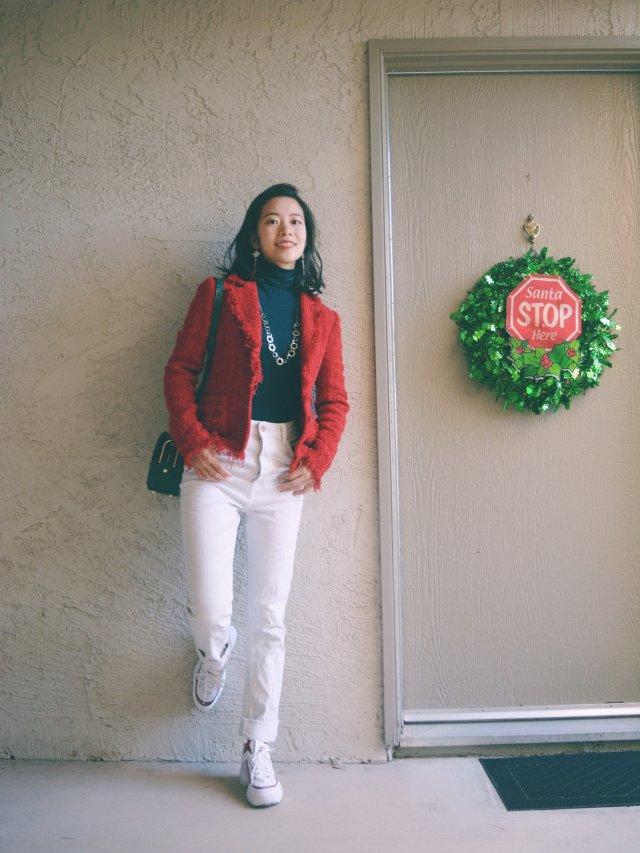 Tweed Jacket百搭穿法(六)