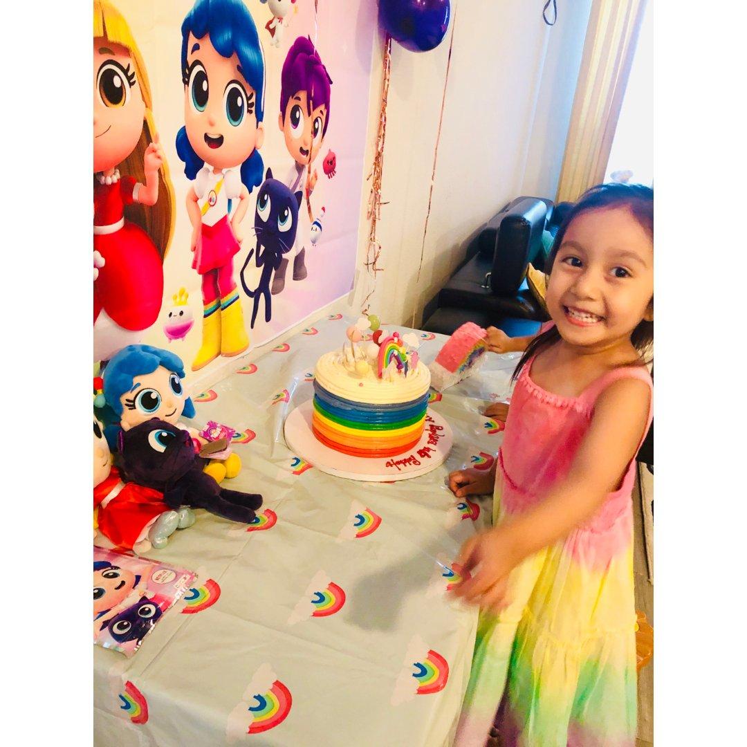 Rainbow彩虹裙