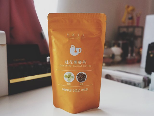 桂花荞麦茶🍵