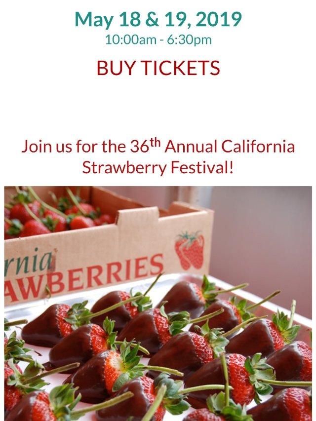 草莓节的美食