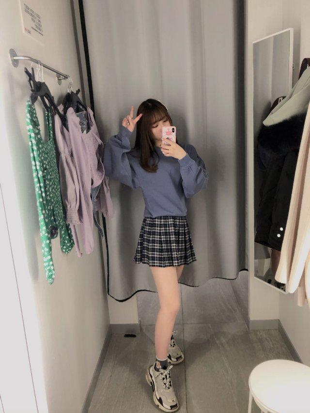 【H&M 试衣间】🌸 韩系早春学生风穿搭