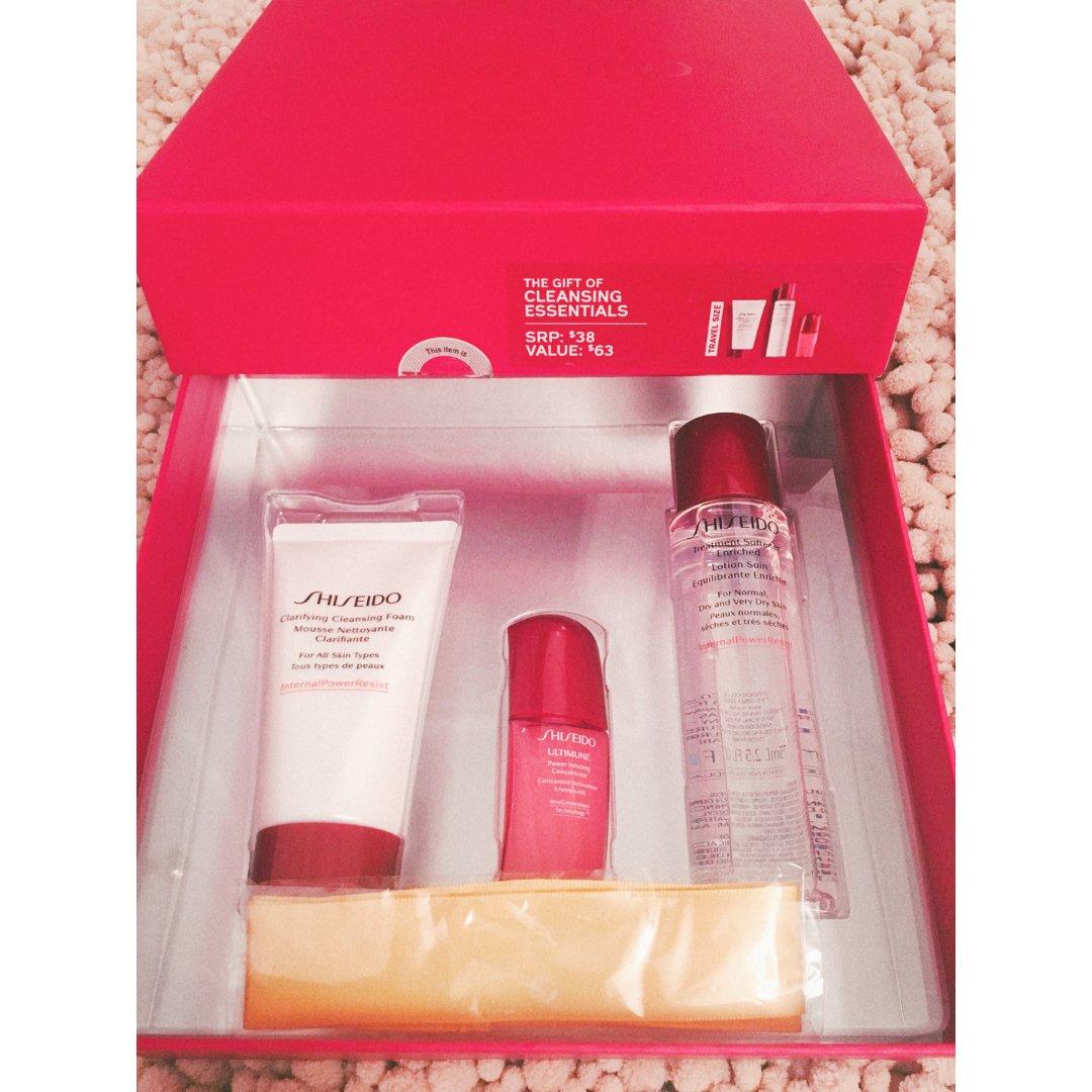 shiseido礼盒捡漏