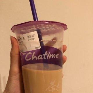 一定要喝的Chatime饮品-日月潭奶茶...