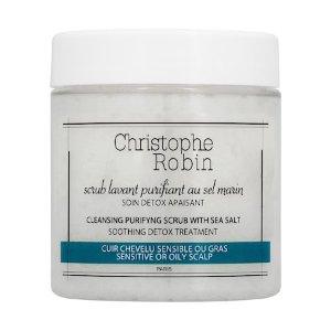 Cleansing Purifying Scrub with Sea Salt Mini - Christophe Robin | Sephora