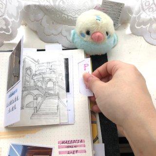 来做旅行手账鸭~~~...