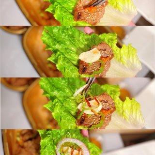 冲着买一送一二刷人气韩式烤肉店...