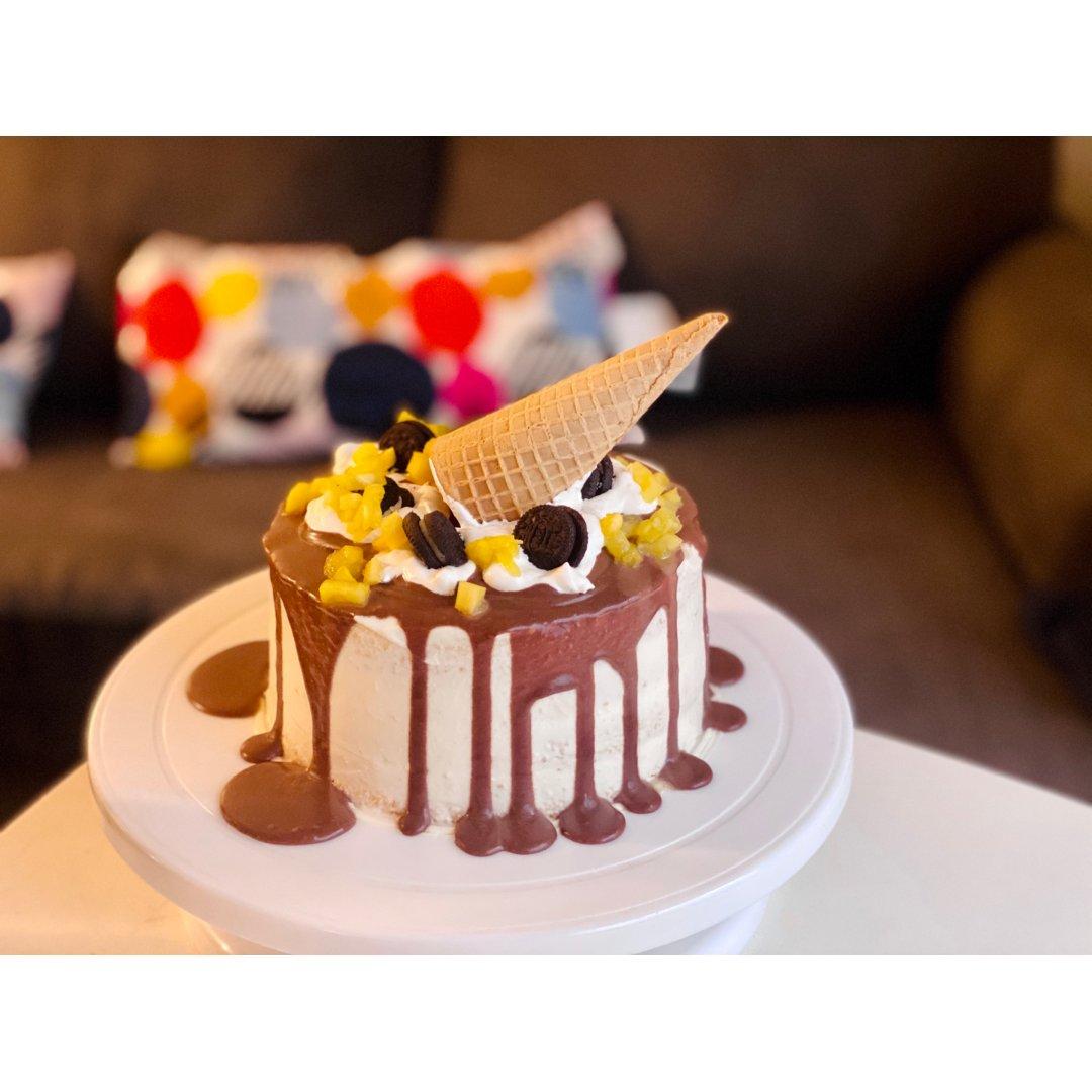 做给老公的生日蛋糕