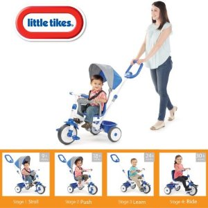 $65.98Little Tikes 四合一散步推车/儿童三轮自行车