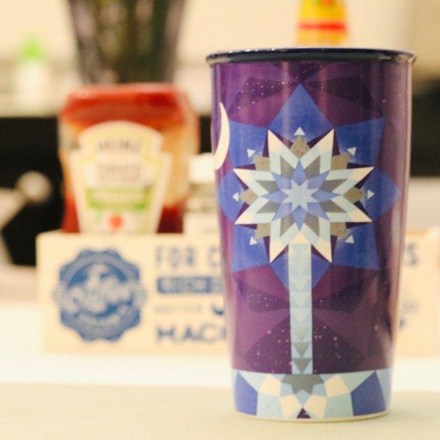 很不一样的星巴克杯子!它来自南卡💙