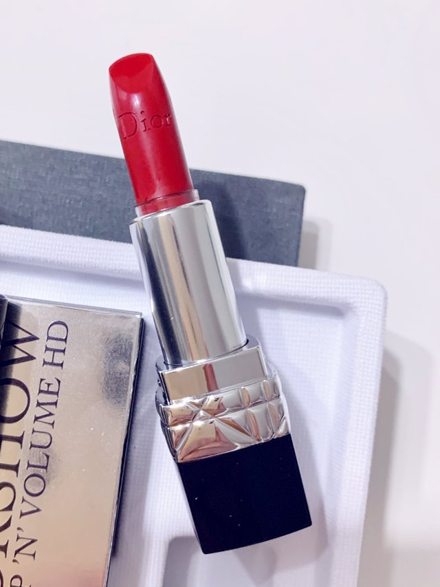 No.13 dior唇膏,正红色,...