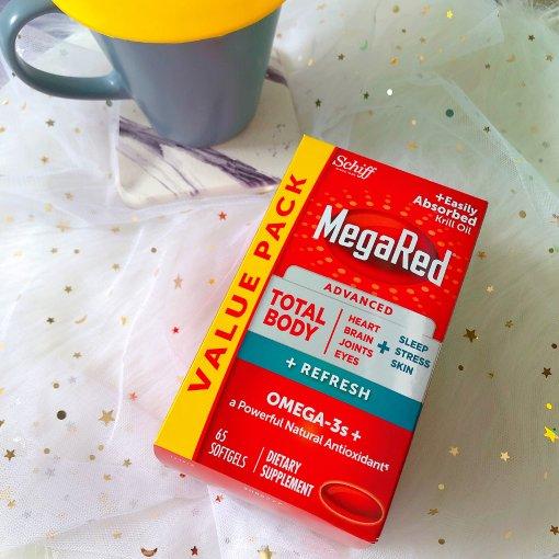 日常保健好帮手 MegaRed高浓度磷虾油