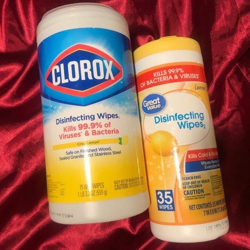 微众测 | 消毒湿巾🍋 病毒小杀手