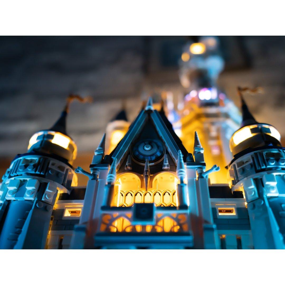 迪士尼城堡🏰 - 最不该错过的乐高史诗巨...