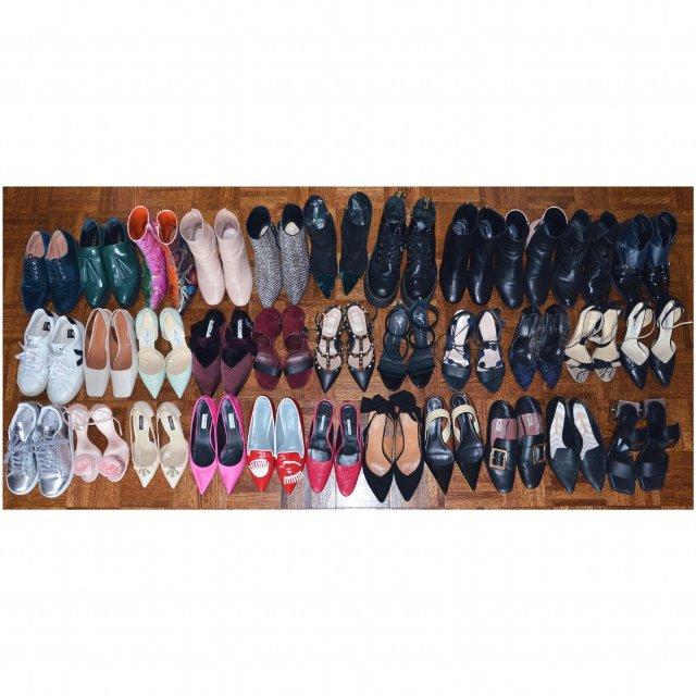 17-18穿得比较多的鞋子们