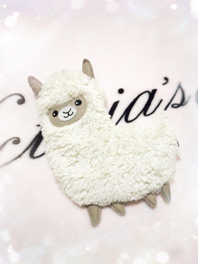 萌萌達小羊鴕🦙薰衣草抱枕