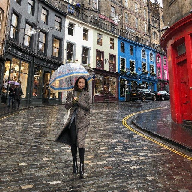 爱丁堡|对角巷|Look<br /...