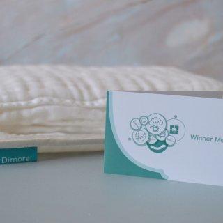 《微众测》Dimora纱布浴巾给宝宝幼嫩肌肤最佳首选