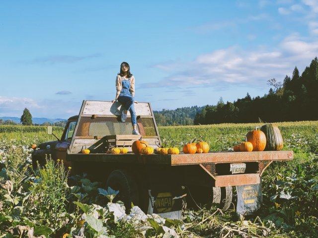 做农场女孩的一天🎃