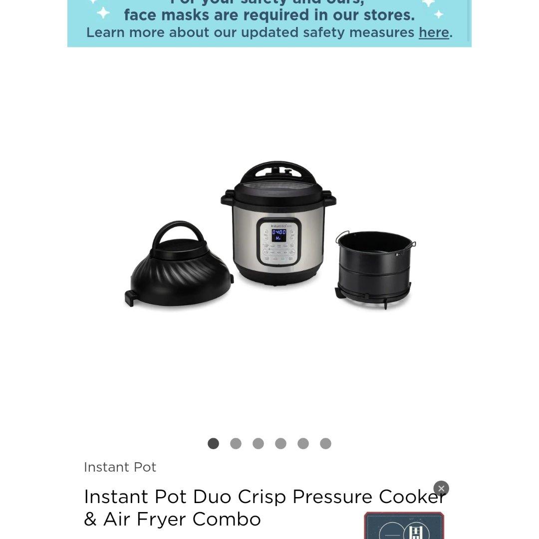 买了instant pot 的锅,超实用