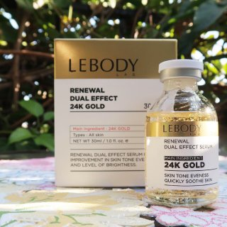 | 瓶瓶罐罐| 闪瞎眼的Leboby 24k金逆龄焕颜精华✨