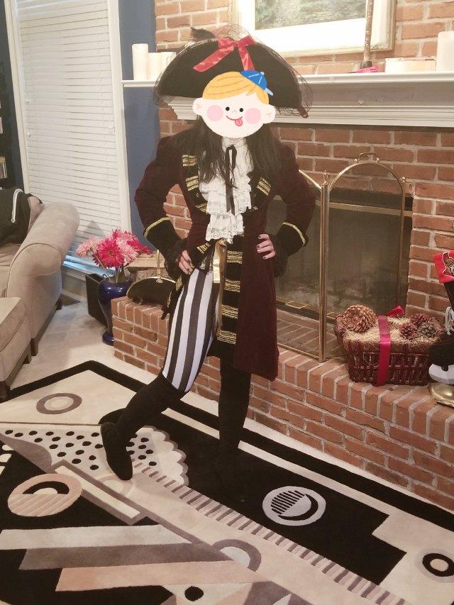 肥到不行的海盗船长