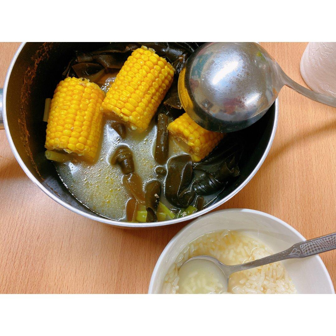 对胃🍲|零失败!!!极简暖冬🐷玉米海带汤...
