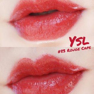 YSL 圆管新色 83 Rouge ca...