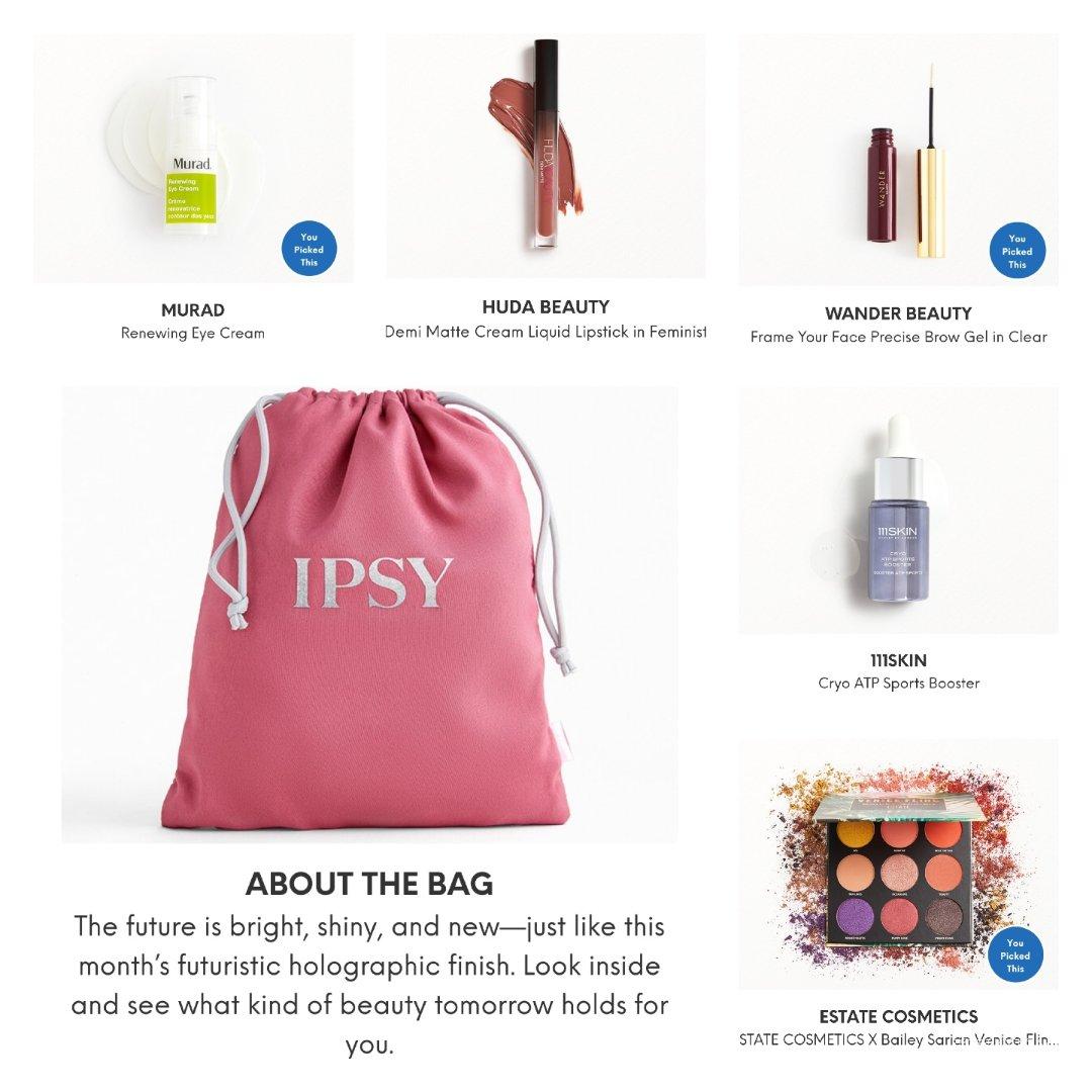 ✌完美配置|IPSY八月美妆盒子已...