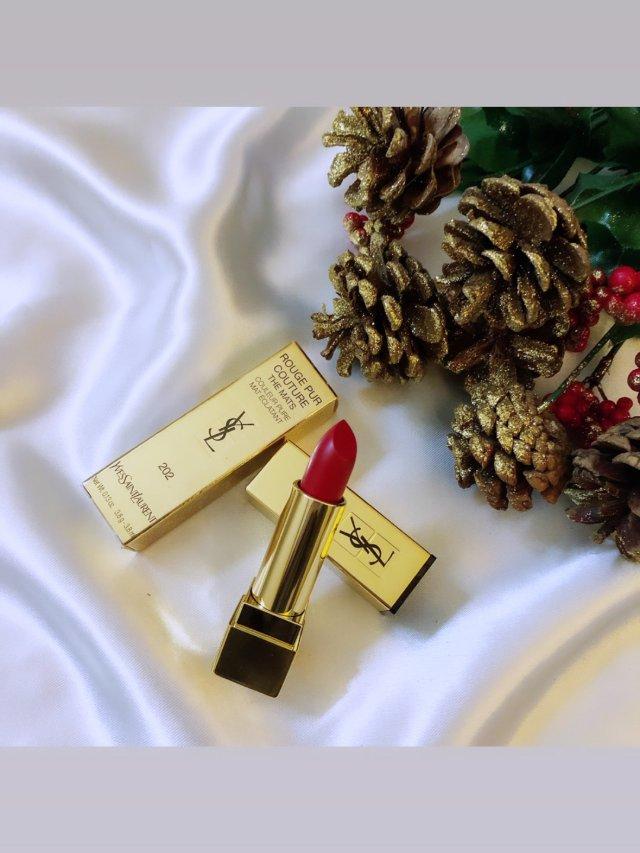 YSL方管💄 | 高贵气质的圣诞红👄
