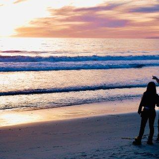 七夕 | 一起漫步海边看最美的日落...