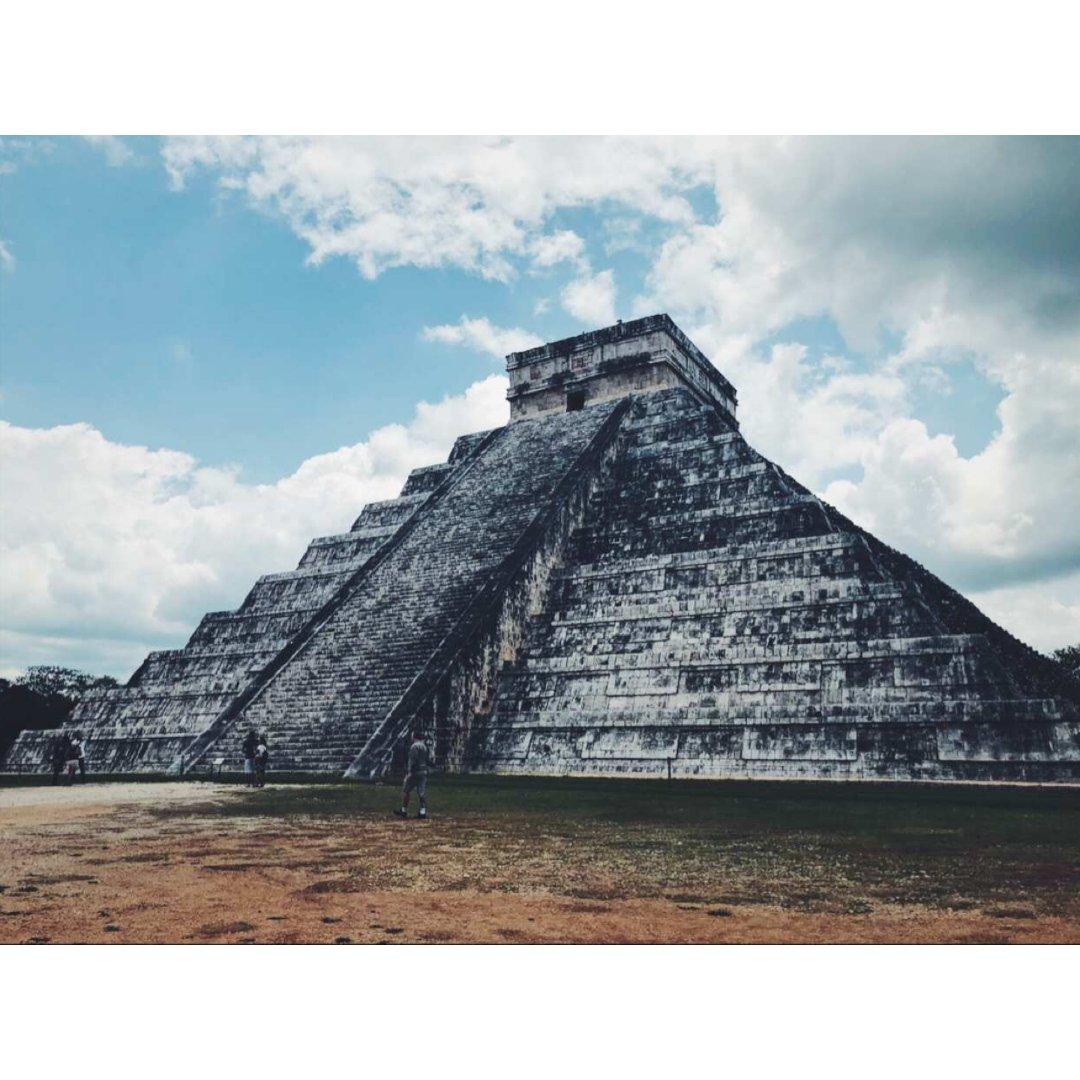 去墨西哥🇲🇽坎昆 你怎么能错过金字塔👀