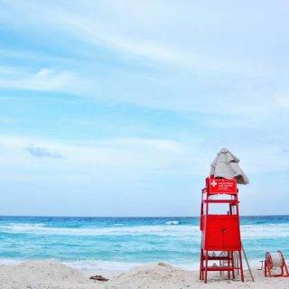 天气这么冷,当然要到热带的岛屿避寒呀🏝...