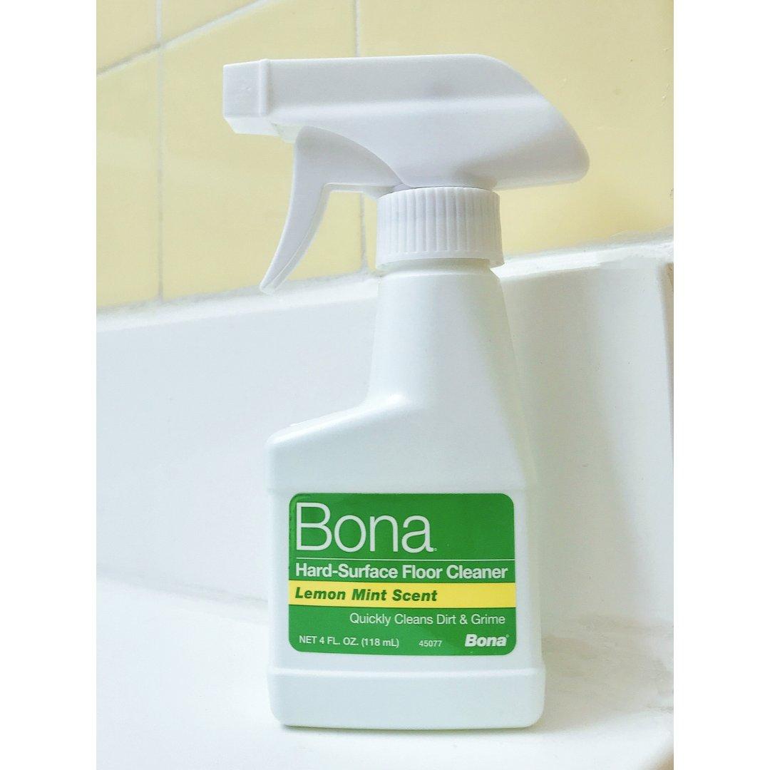 盛赞Bona地板清洁剂
