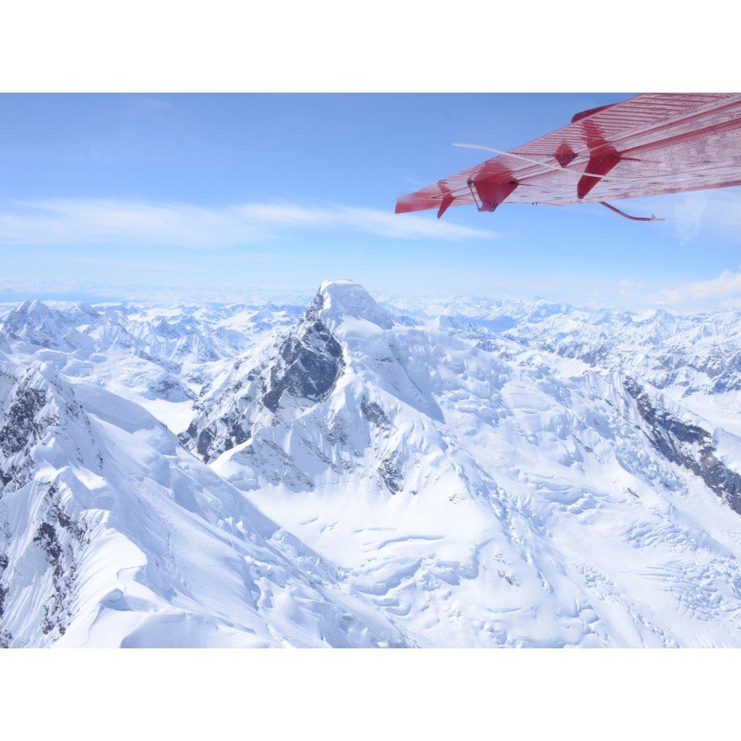 阿拉斯加 坐K2家小飞机观赏北美最...
