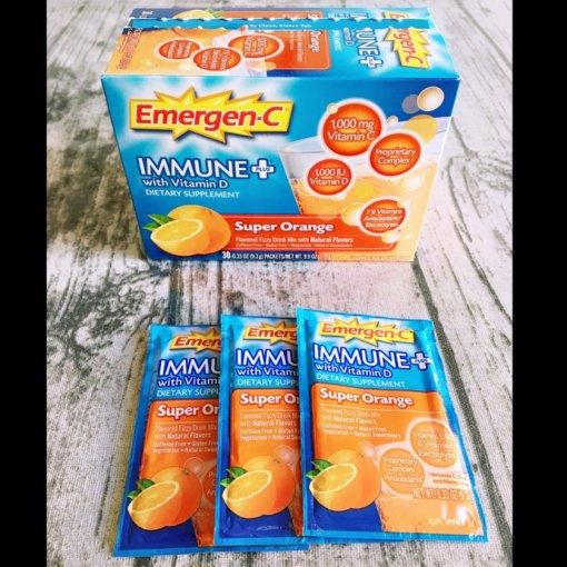 Emergen-C 帮助补充人体所需的维生素C