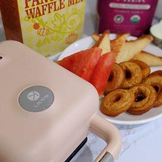 🍩🥞🧇🤩用早餐机实现甜甜圈自由啦🤩早餐机初体验🥪