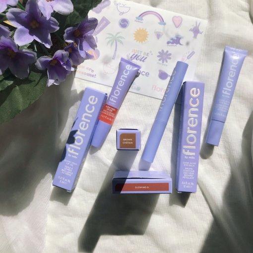 微众测|紫色格调的一抹小清新——Florence颜值控少女