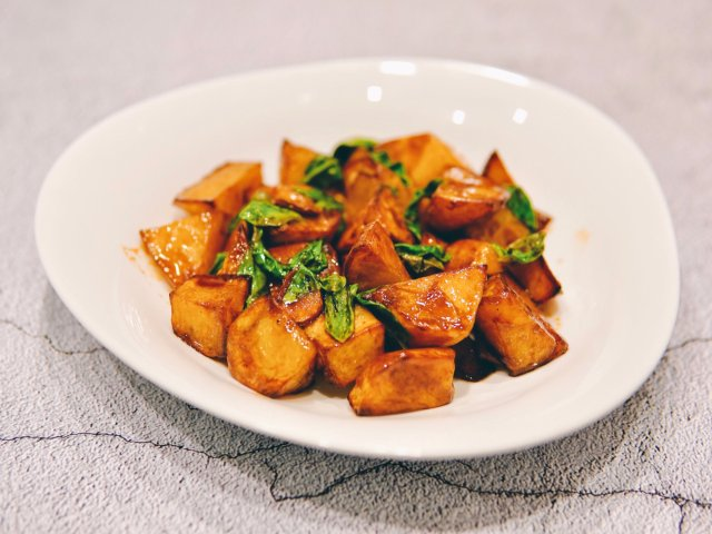 爱上素菜 | 三杯土豆