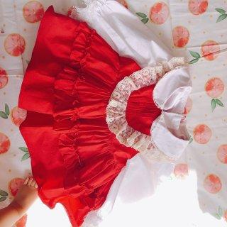 手做坑第一个小裙子...