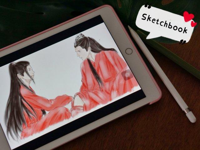💙❤【绘图软件Sketchbook...