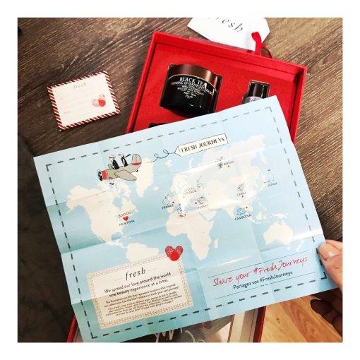 丝芙兰扫货——Fresh圣诞限定红茶套装
