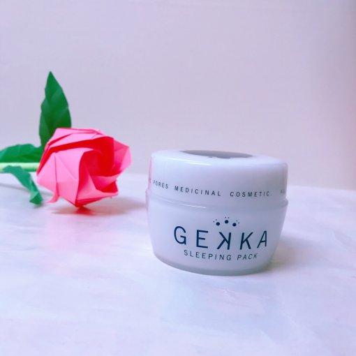 懒人福音—Gekka夜间修护保湿睡眠面膜