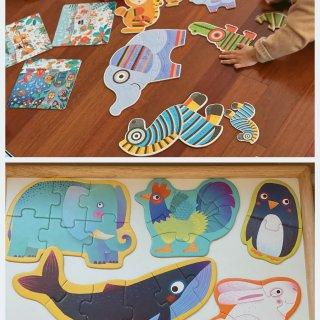 1到2岁宝宝益智拼图该怎么选?一些建议和...