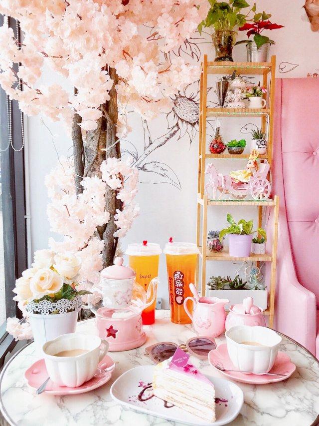 粉嫩少女心的甜品店 | Sweet...
