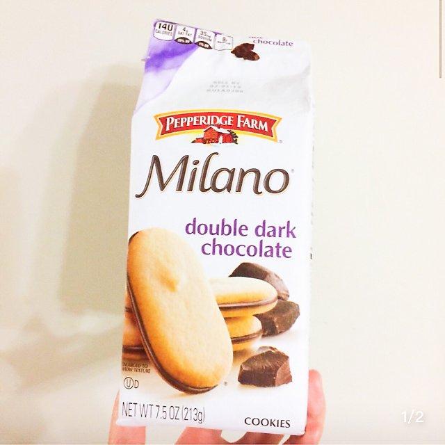 酥脆的巧克力饼干,今天吃了吗😋