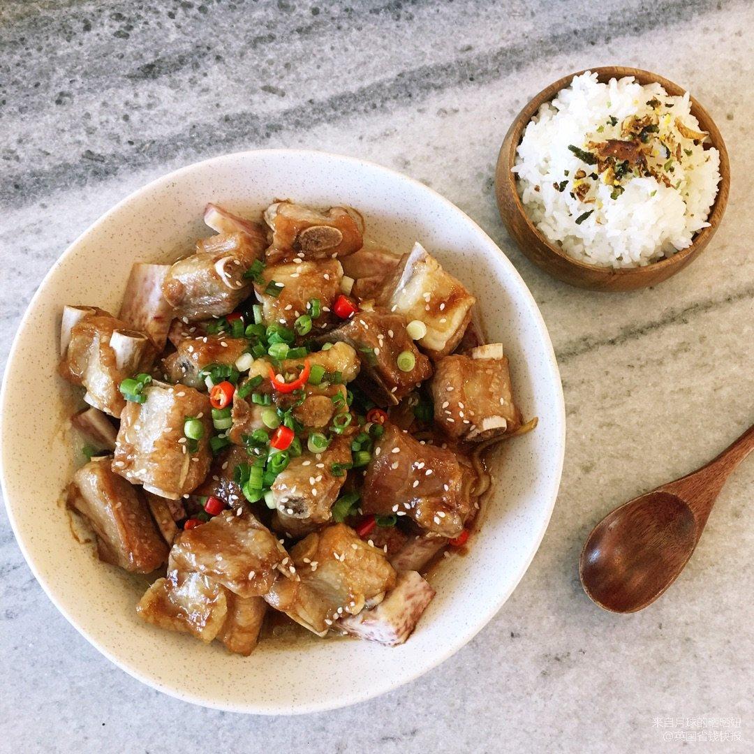 ✨今日份午餐 | 香芋蒸排骨✨