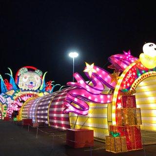 【素组📷】北美最大型的花灯节—坐标Citi field