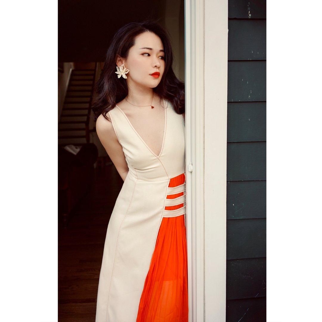 私服推荐|这条裙子穿好了, 就是高...