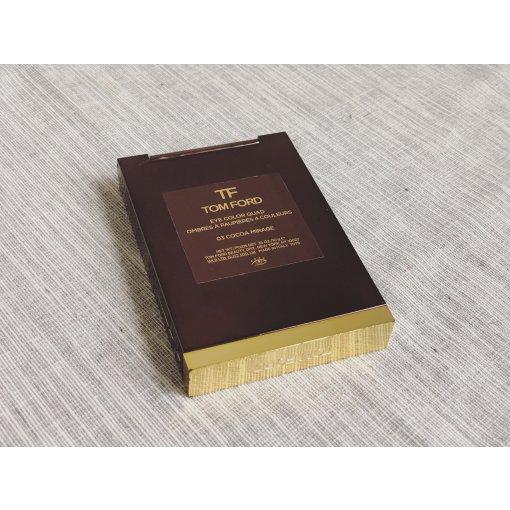 【眼影铁皮记录】Tom Ford 四色眼影盘