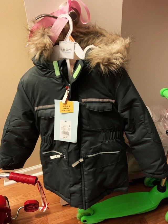 target儿童防风外套